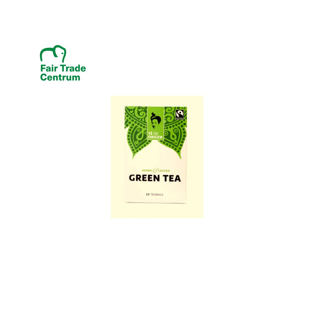 Bio zelený čaj ze Šrí Lanky, porcovaný 20 x 2 g