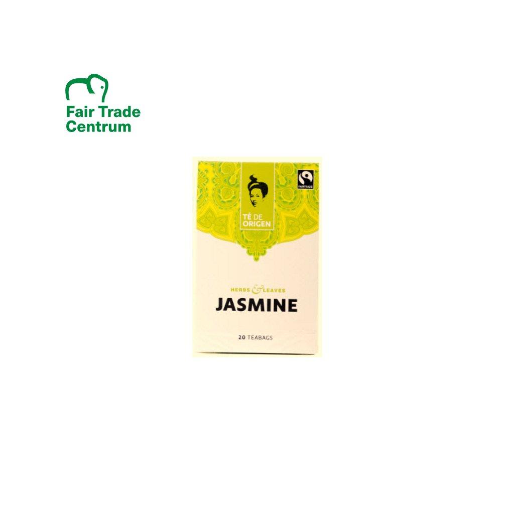 Bio zelený jasmínový čaj ze Šrí Lanky, porcovaný 20x2 g