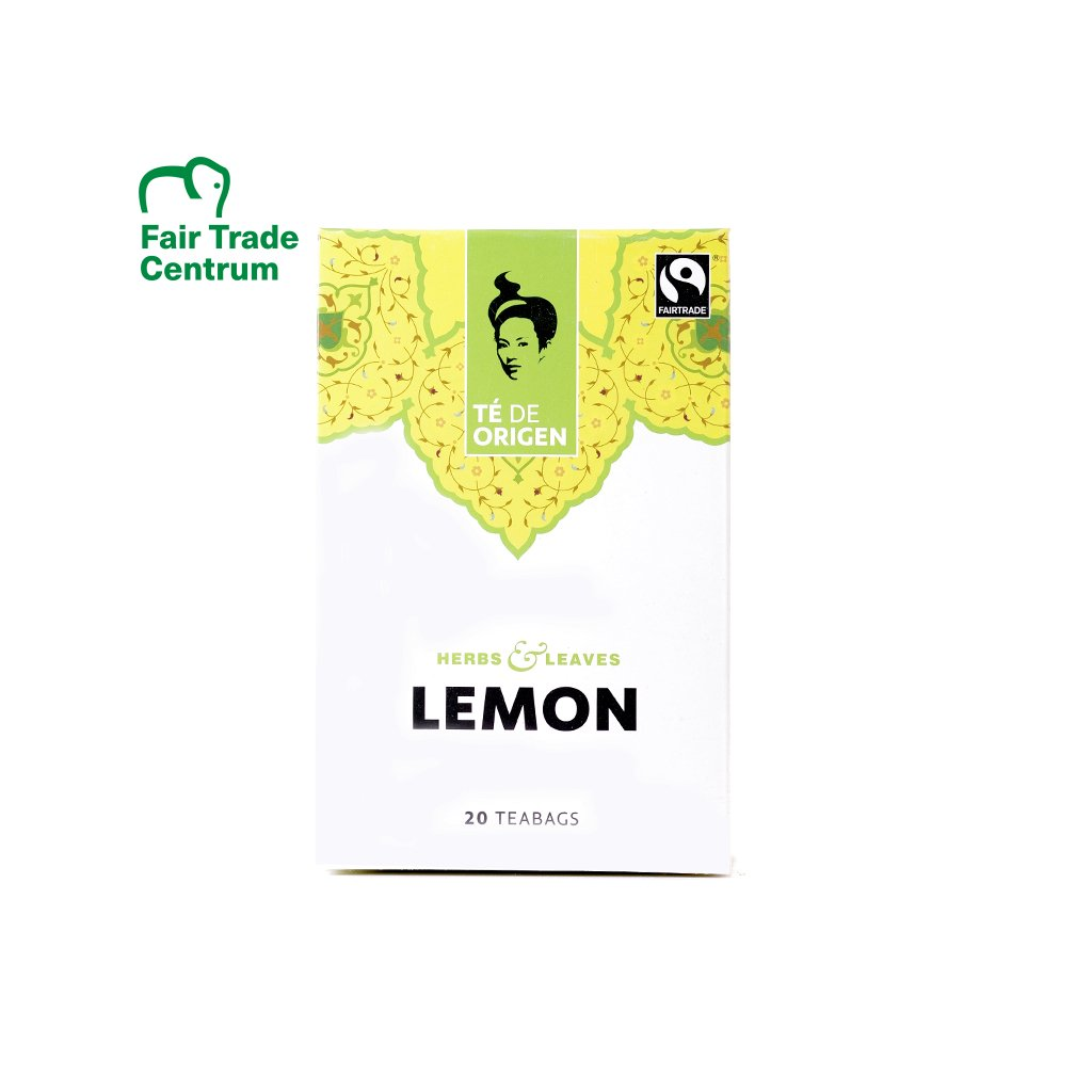 Bio černý čaj s citrónovou trávou, porcovaný 20 x 2 g