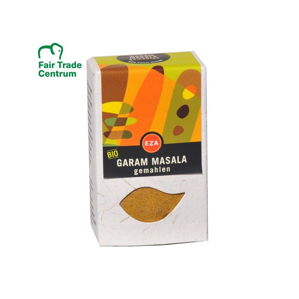 Fair trade bio koření Garam masala ze Šrí Lanky