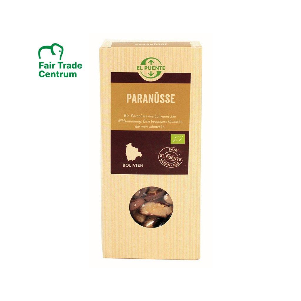 Fair trade bio divoké para ořechy z Bolívie, 250 g