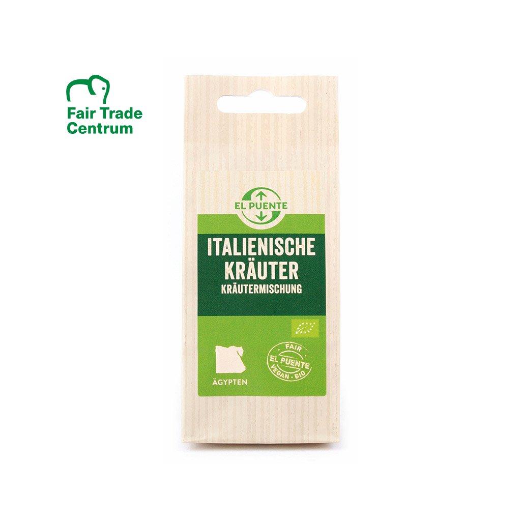 Fair trade bio italské koření z Egypta