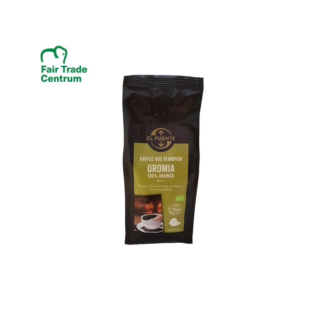 Bio zrnková káva Oromia, 250 g