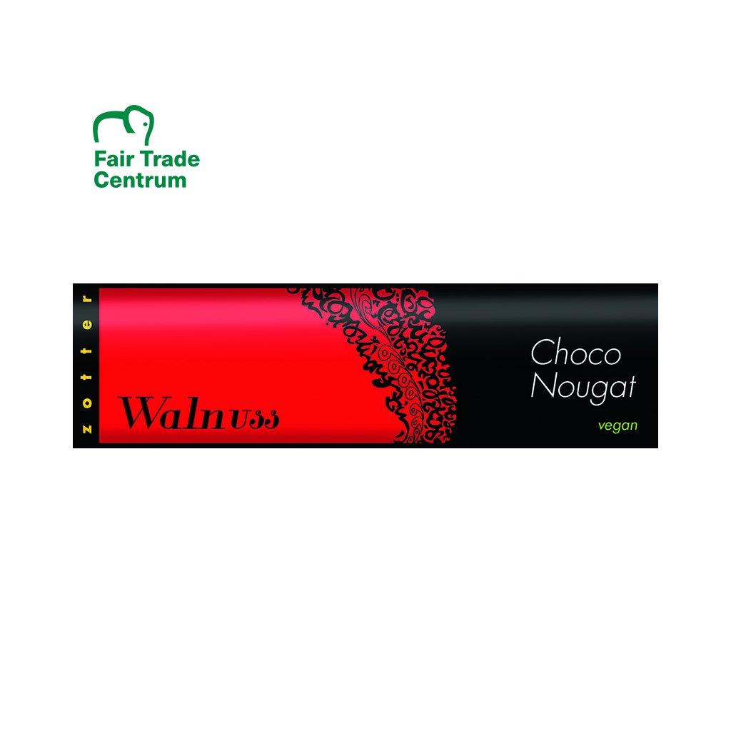 fairtrade bio cokoladovy nugat zotter s vlasskymi orechy