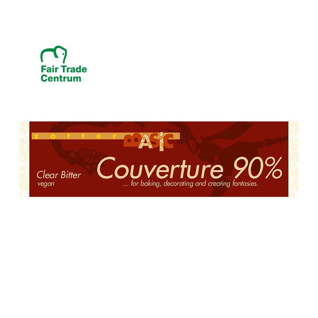 fairtrade bio cokolada couverture zotter 90 %