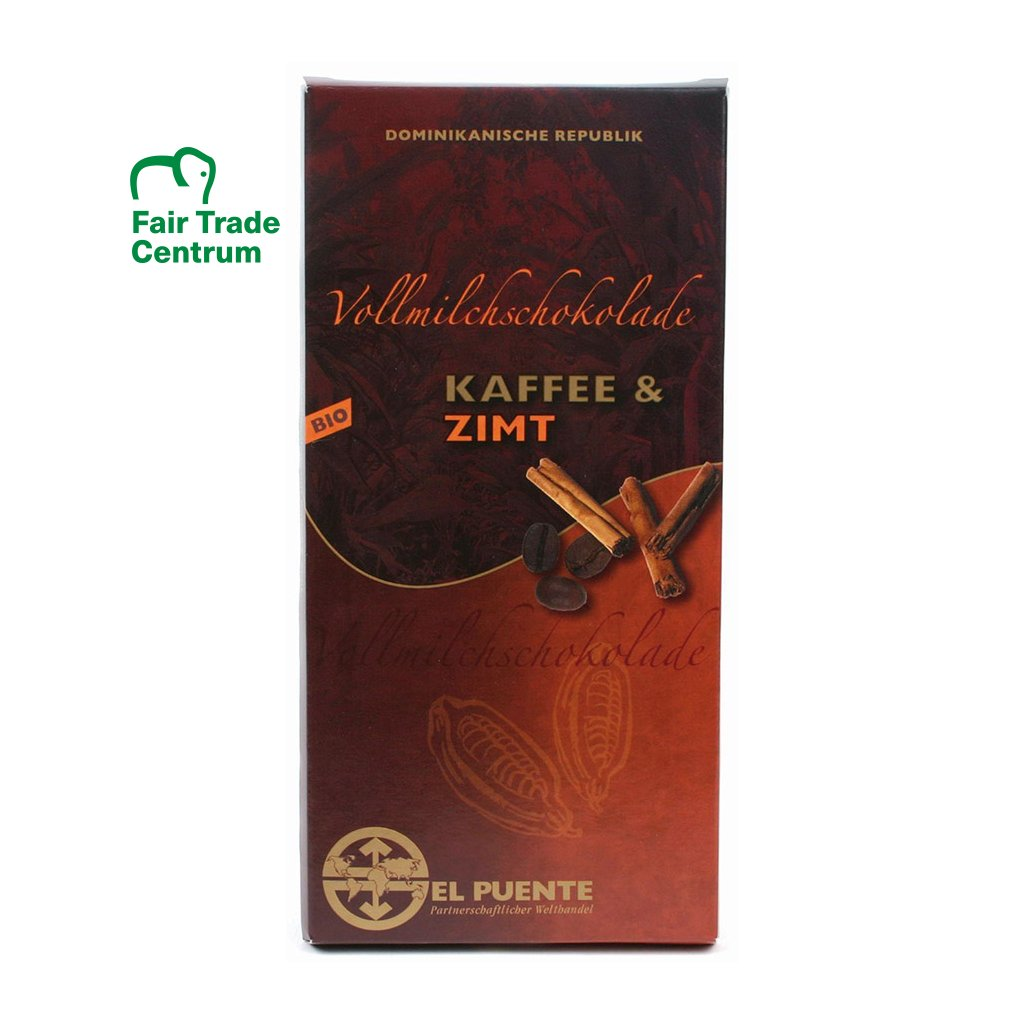 fair trade bio mlecna cokolada kava skorice