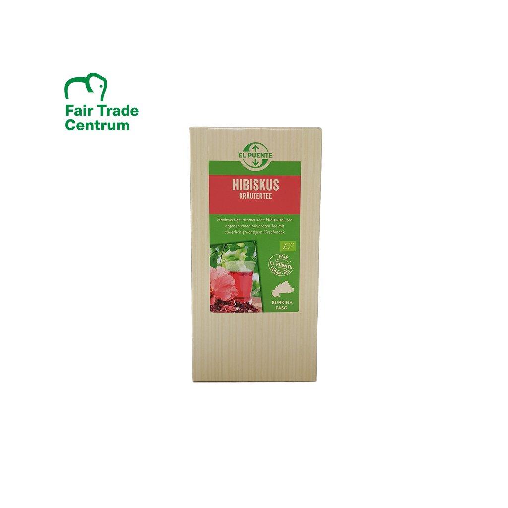 Bio ibiškový čaj z Burkiny Faso sypaný, 70 g