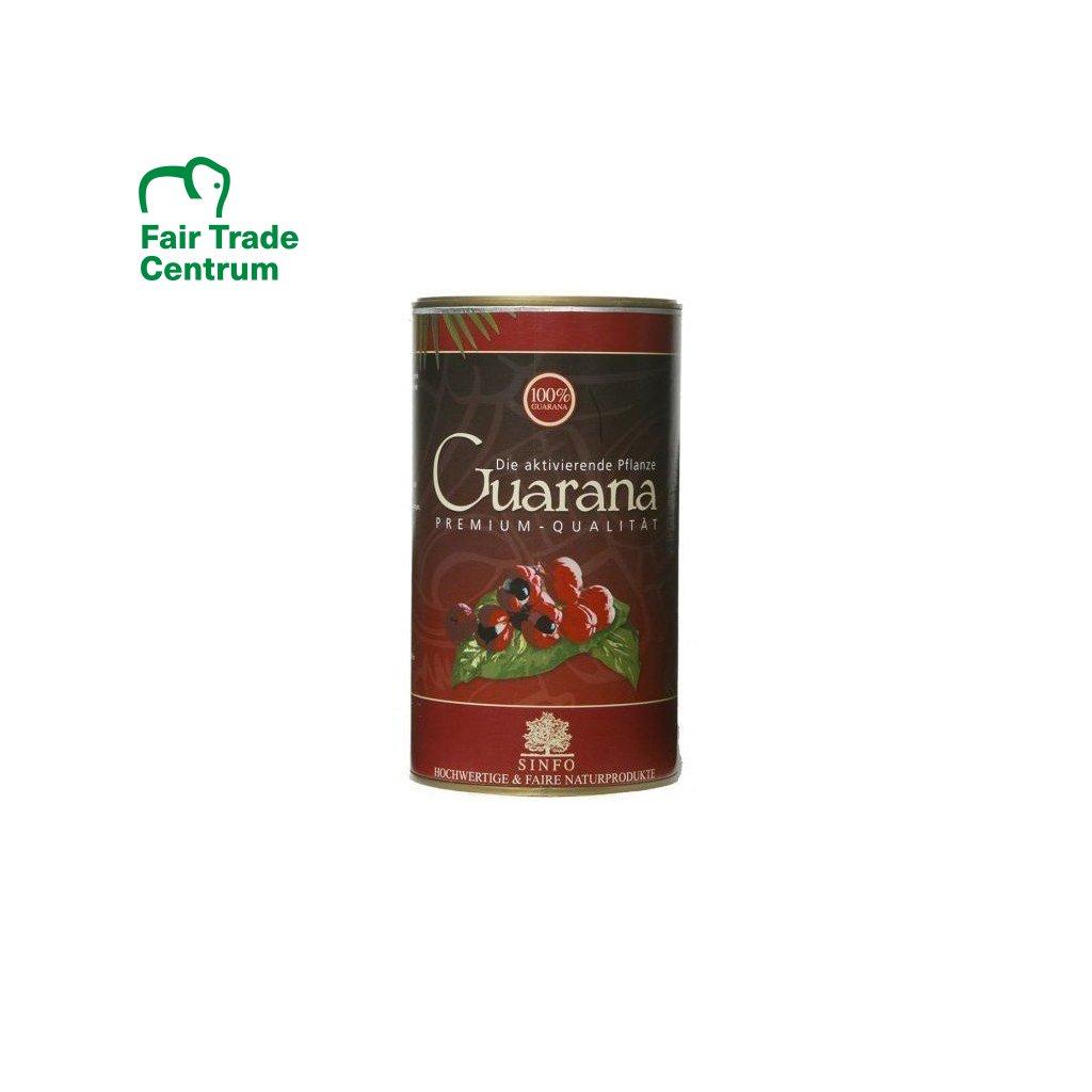 Bio Guarana bez slupek z Brazílie, 500 g