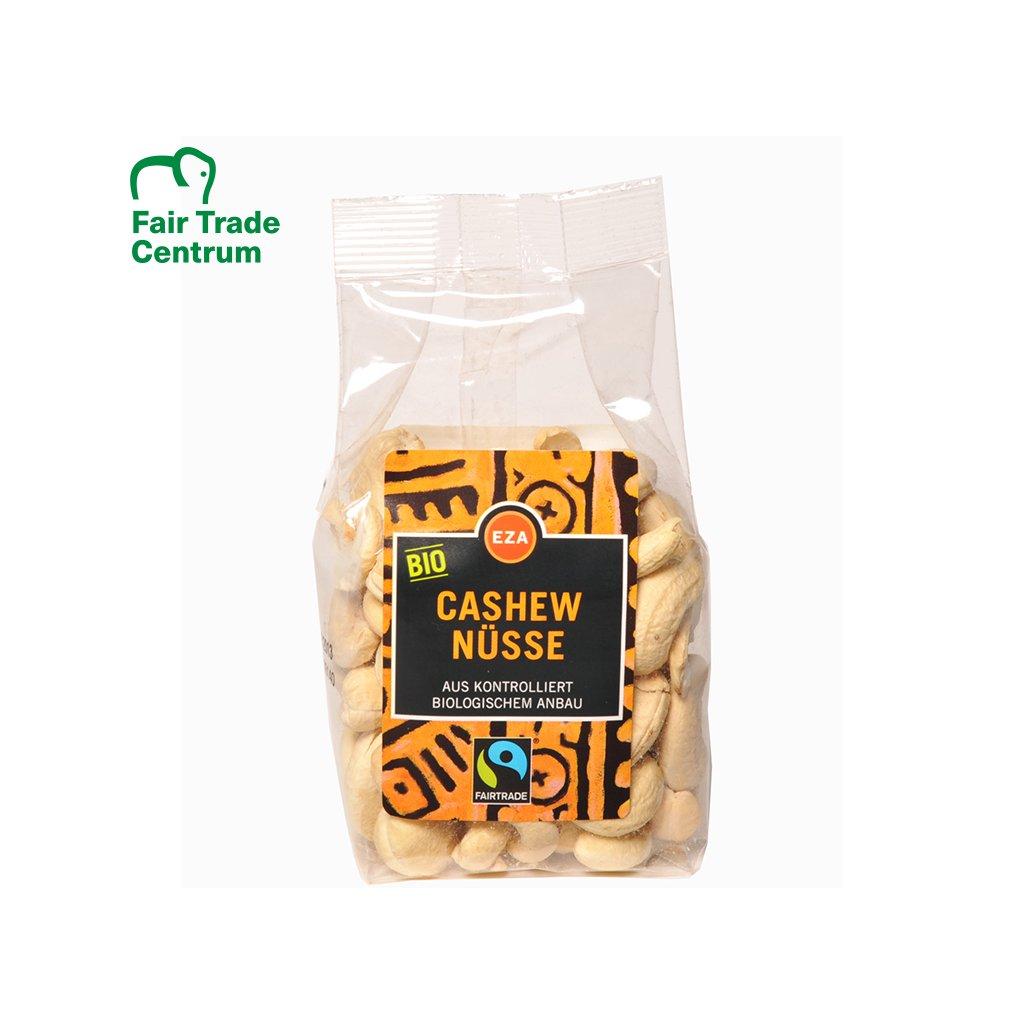 Fairtrade bio kešu ořechy přírodní z Burkiny Faso, 100 g