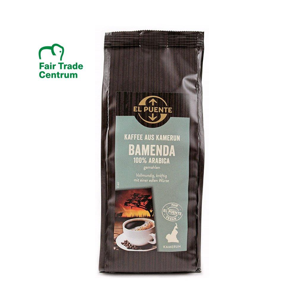 Fair Trade mletá káva Bamenda z Kamerunu, 250 g