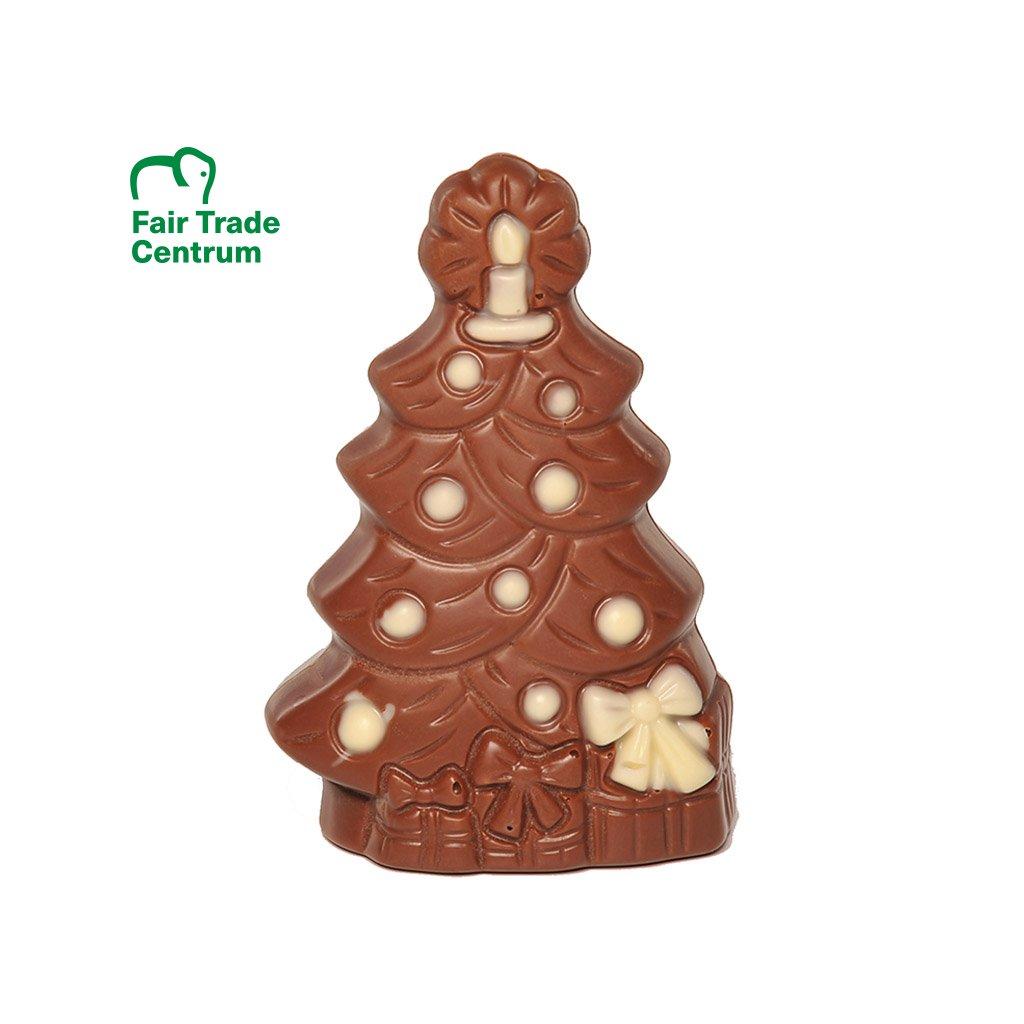 Fairtrade bio stromeček z mléčné čokolády, 40 g