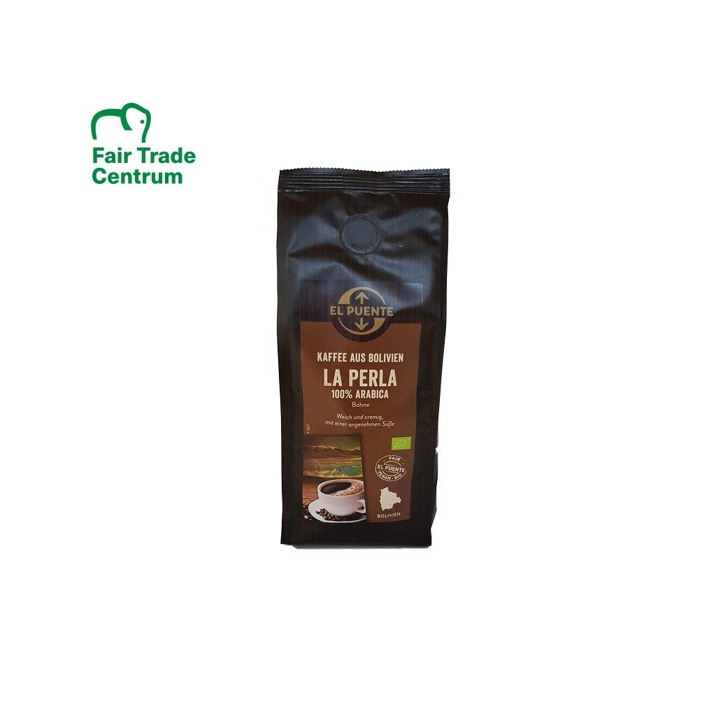 Bio zrnková káva La Perla z Bolívie, 250 g