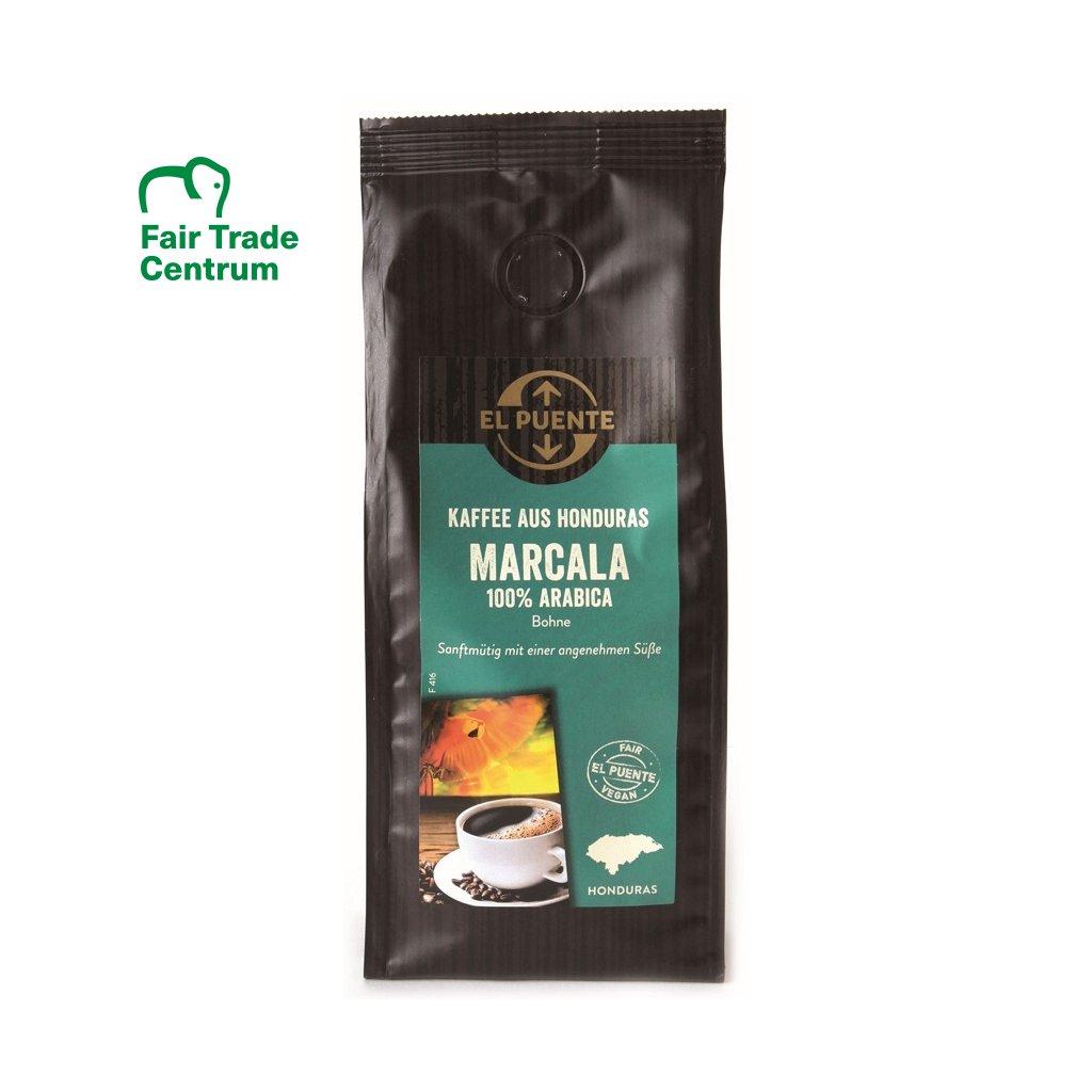 Fair Trade výběrová bio zrnková káva Marcala z Hondurasu, 250 g