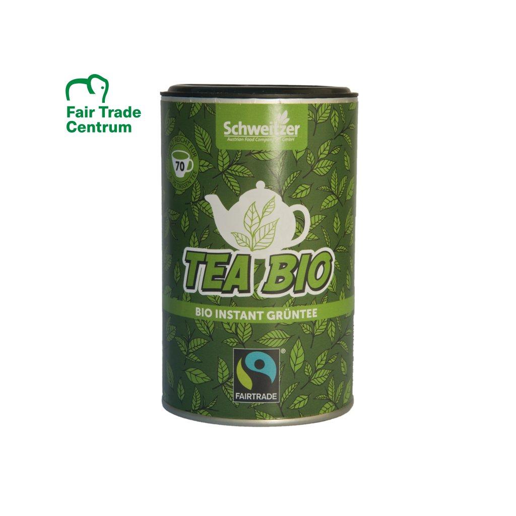 Fairtrade bio instantní zelený čaj