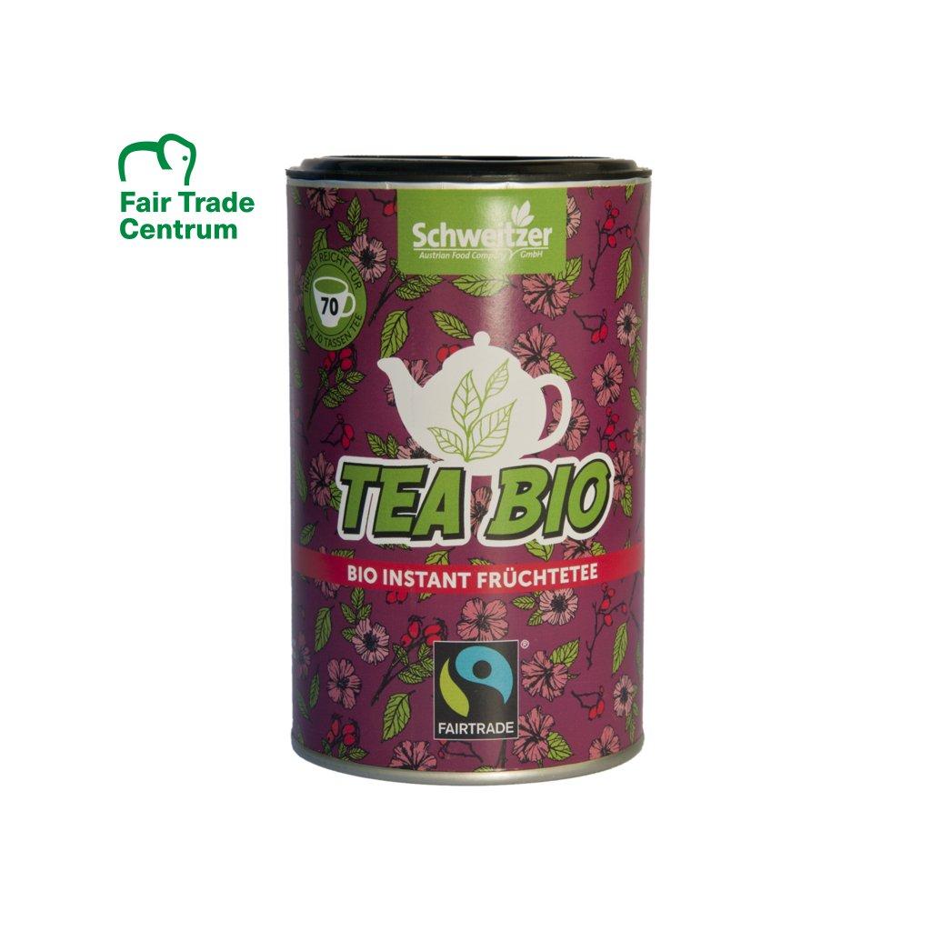 Fairtrade bio instantní ibiškový čaj