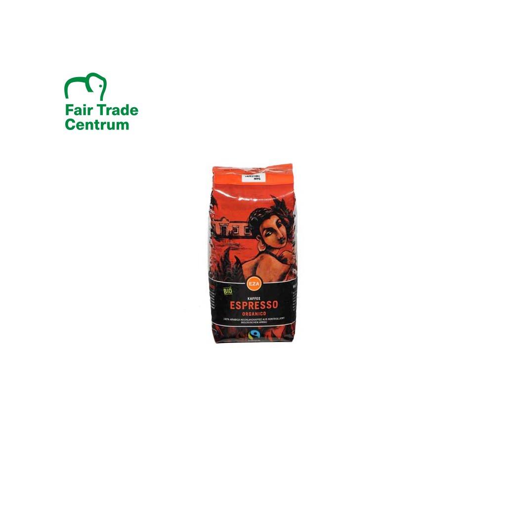 Bio zrnková káva Organico Espresso, 1000 g