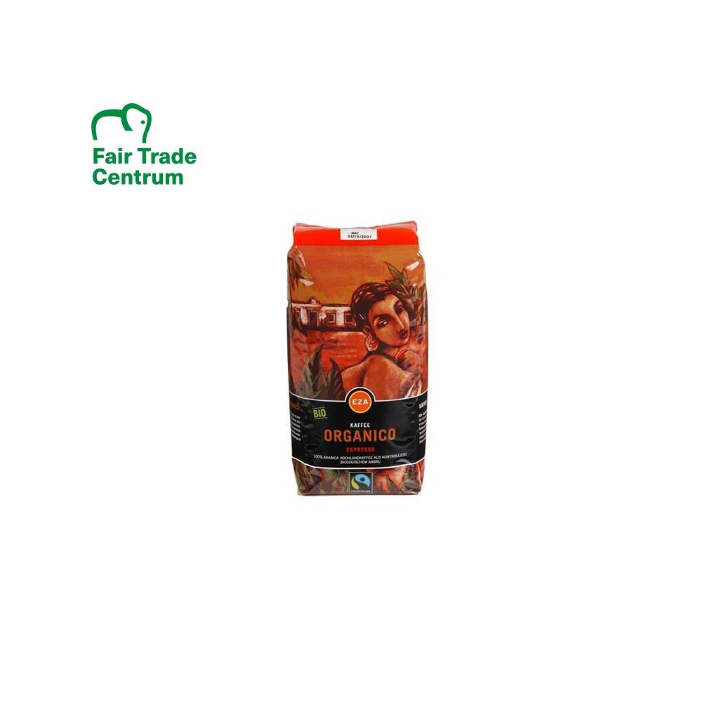 Bio zrnková káva Espresso Organico, 500 g