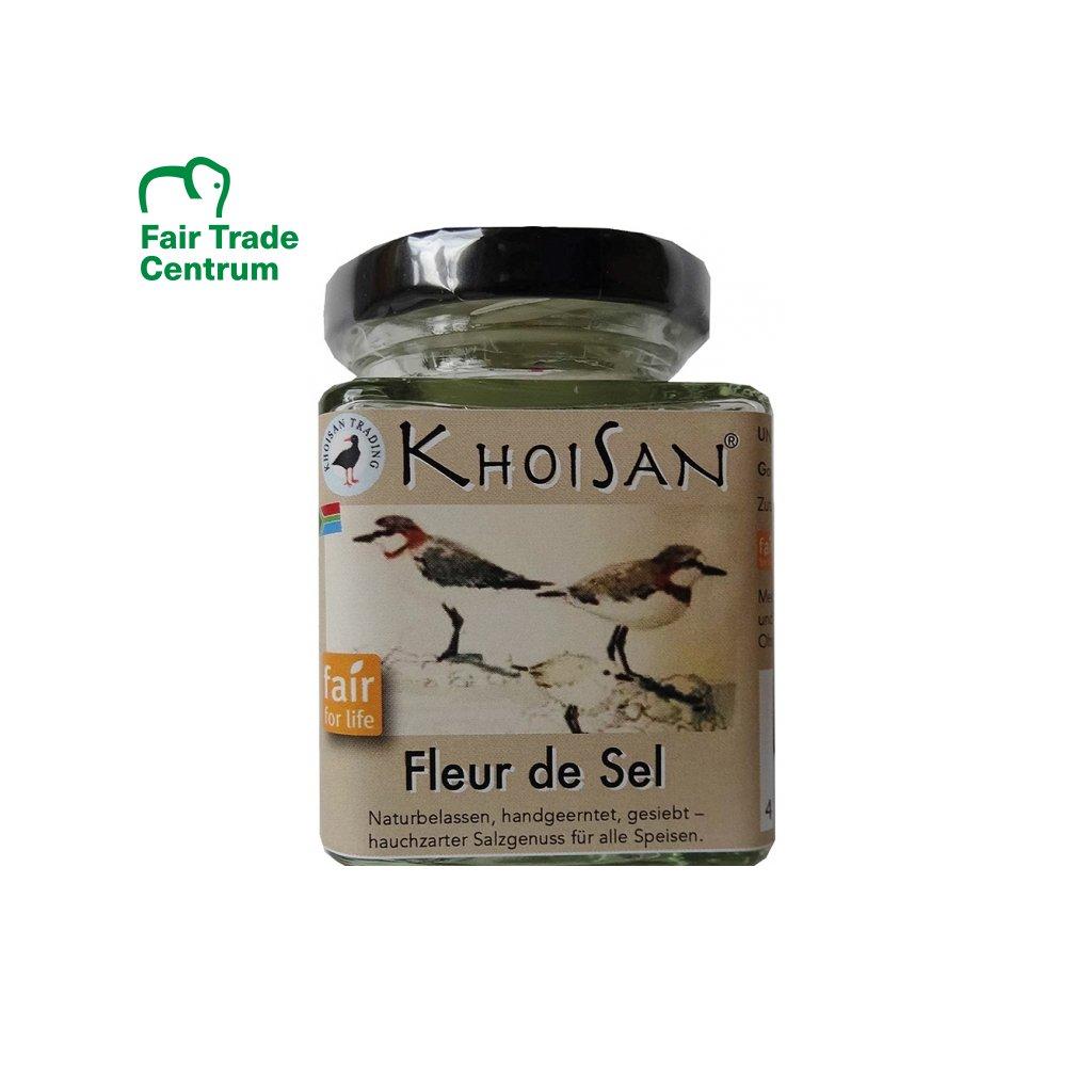 Fair Trade mořská sůl KhoiSan Fleur de Sel
