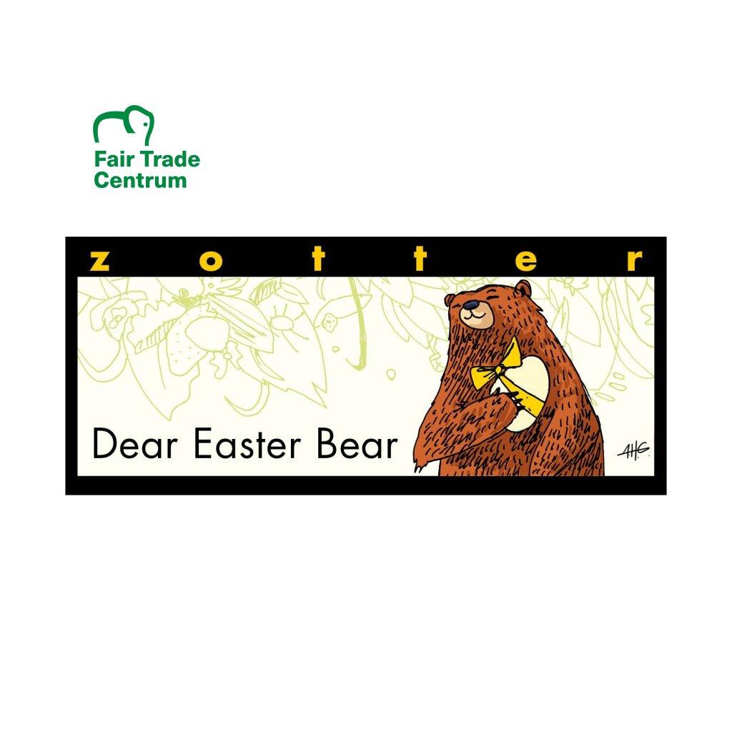 Fair Trade Bio bílá čokoláda Milý medvídek