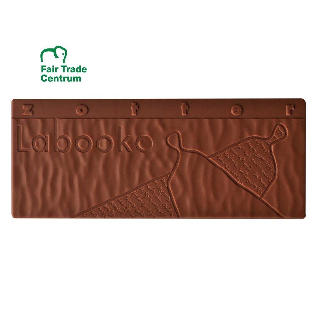 Fair trade bio hořká čokoláda Zotter Zajíček; Velikonoční Zajíček