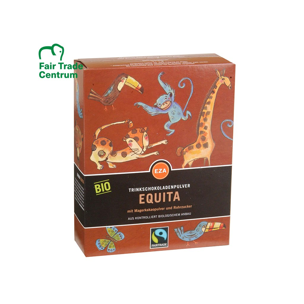 Fairtrade bio kakaový nápoj Equita, 375 g