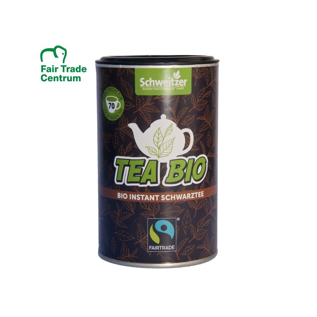 Fairtrade bio instantní černý čaj