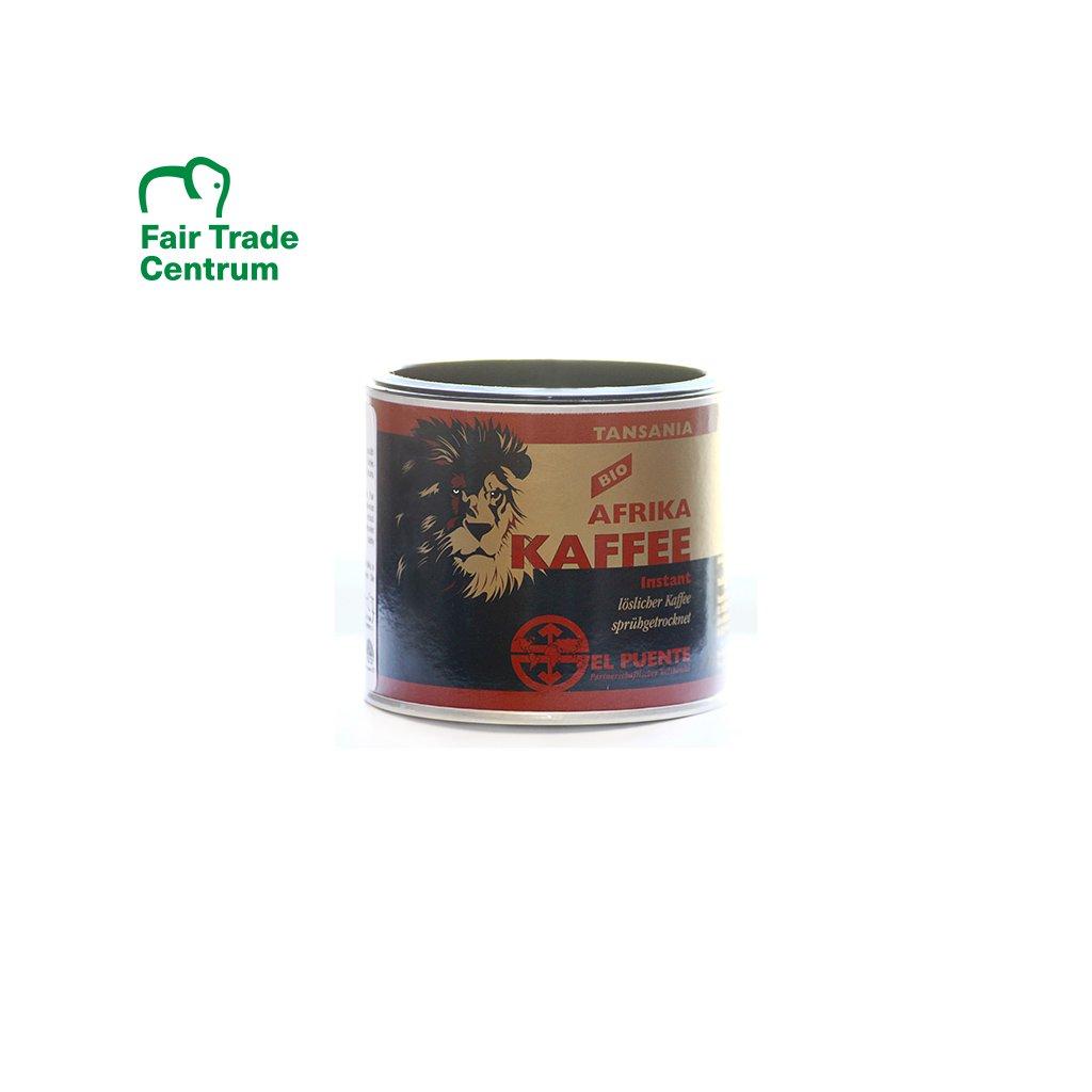 Bio instantní káva Tanzanie, 100 g