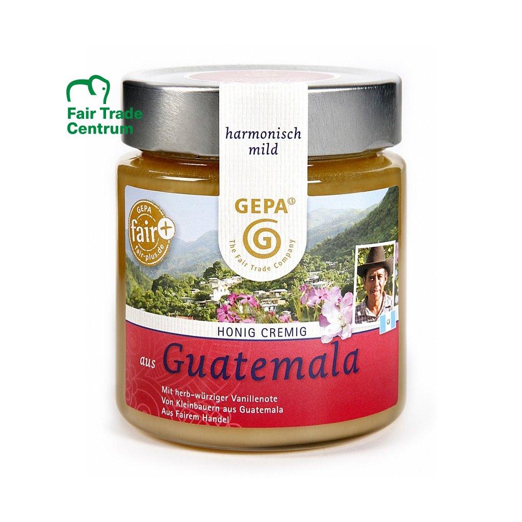 Fair Trade květový med krémový z Guatemaly, 500 g