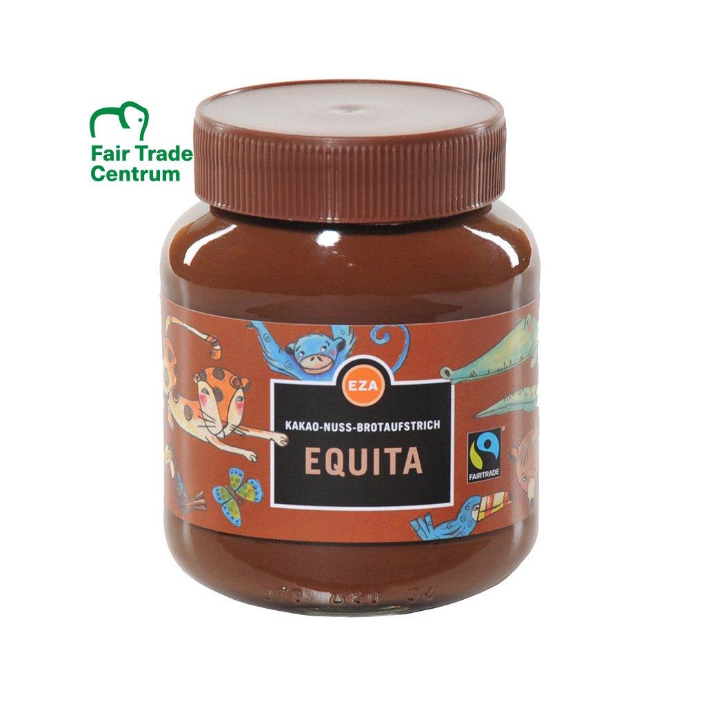 Fairtrade čokoládový krém s oříšky bez lepku