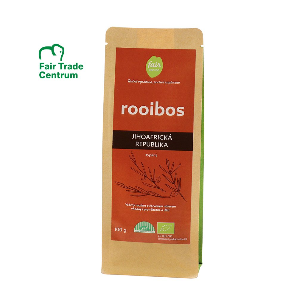 Fair trade bio rooibos sypaný z JAR, 100 g