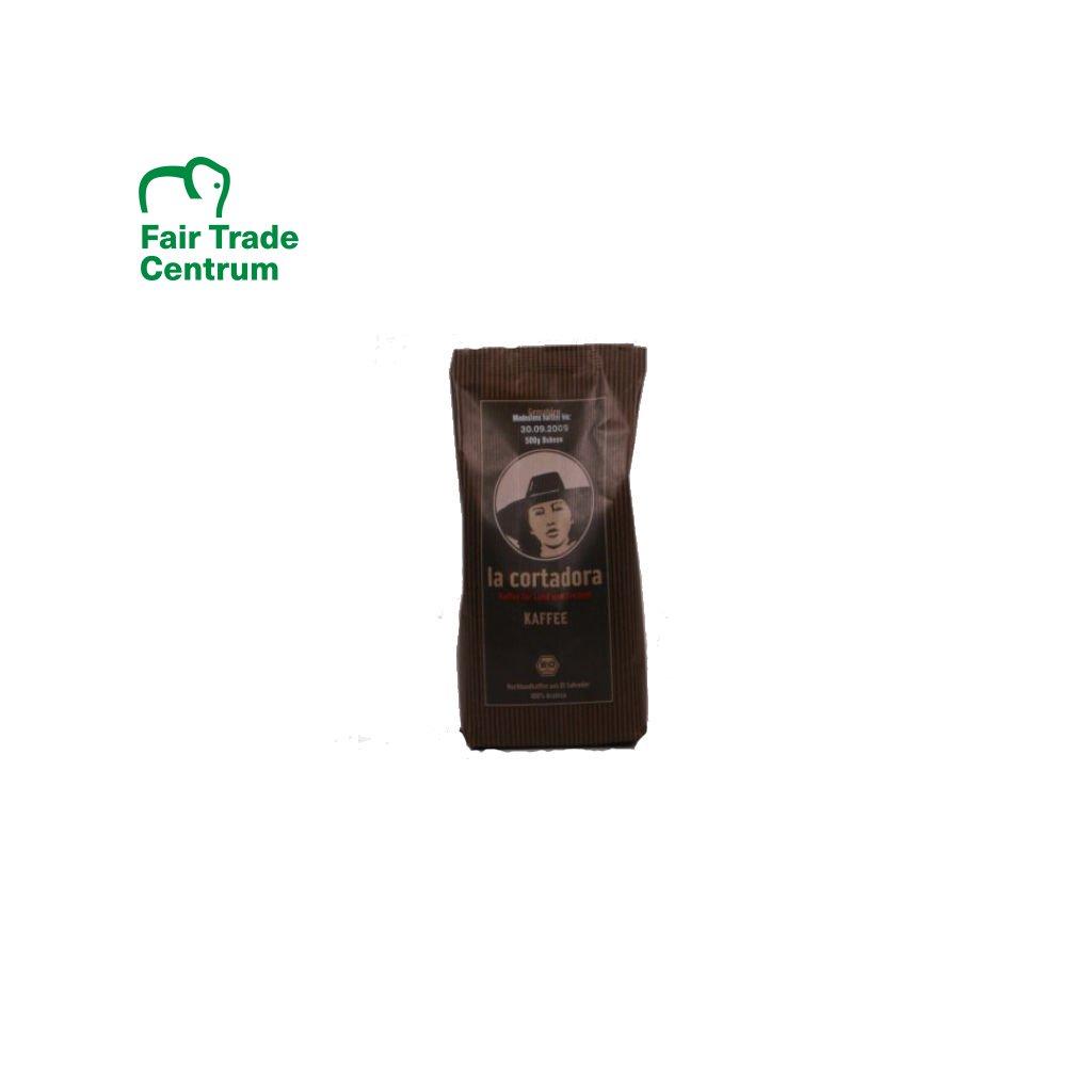 Bio zrnková káva La Cortadora, 500 g
