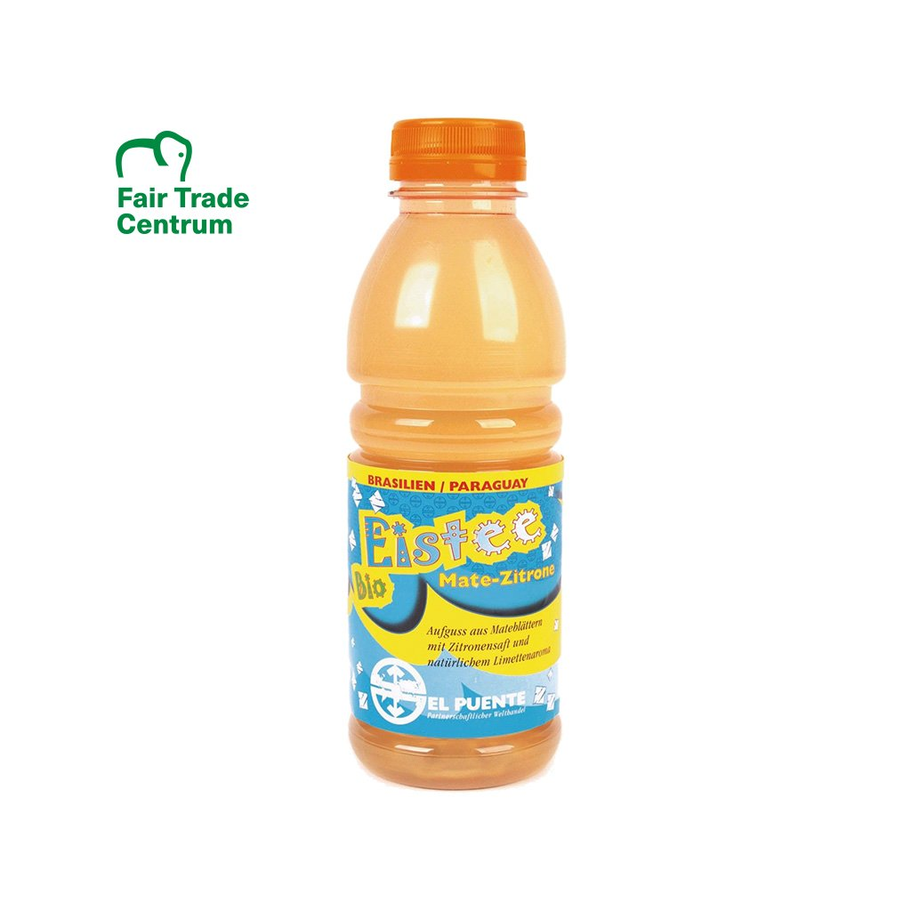 Fair trade bio maté s citrónem, 500 ml
