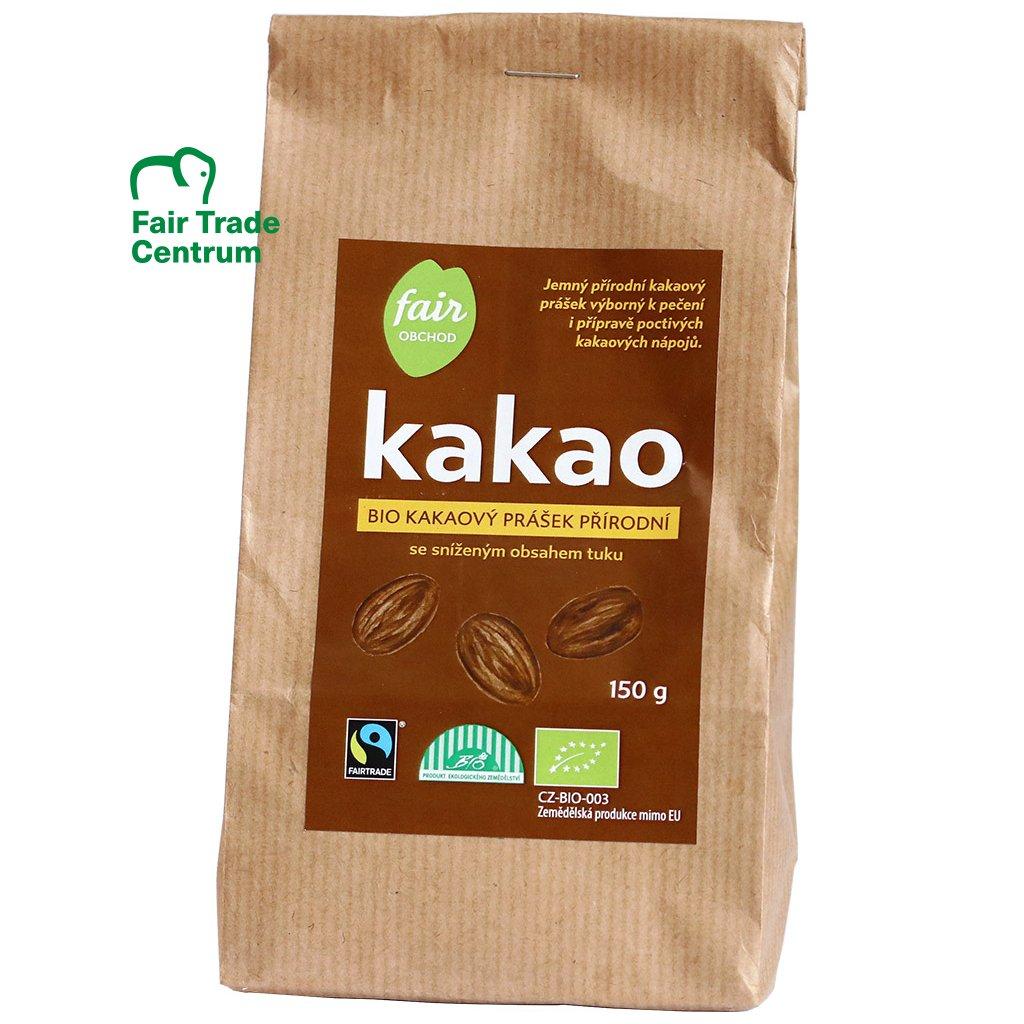 Bio kakaový prášek přírodní, 150 g
