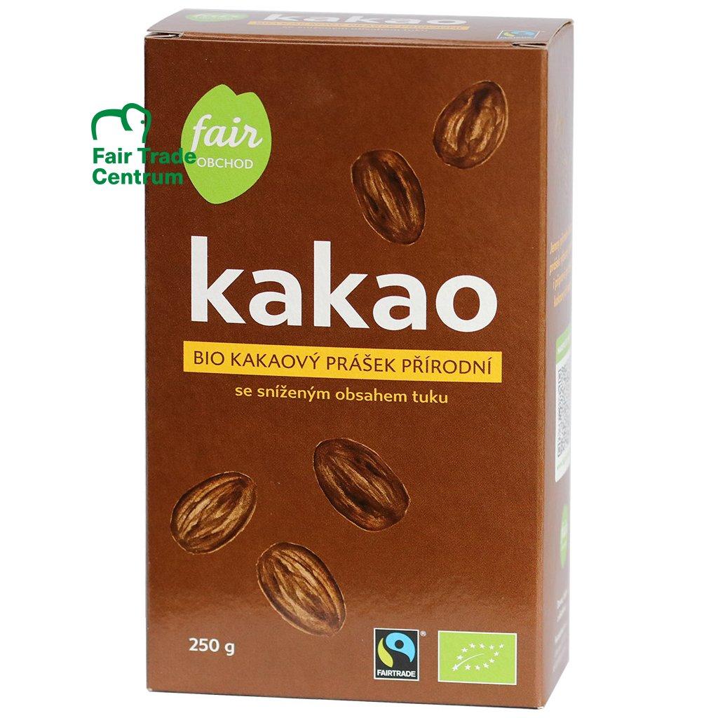 Bio kakaový prášek z Dominikánské republiky, 250 g