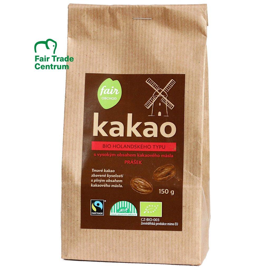 Bio kakao plnotučné holandské, 150 g