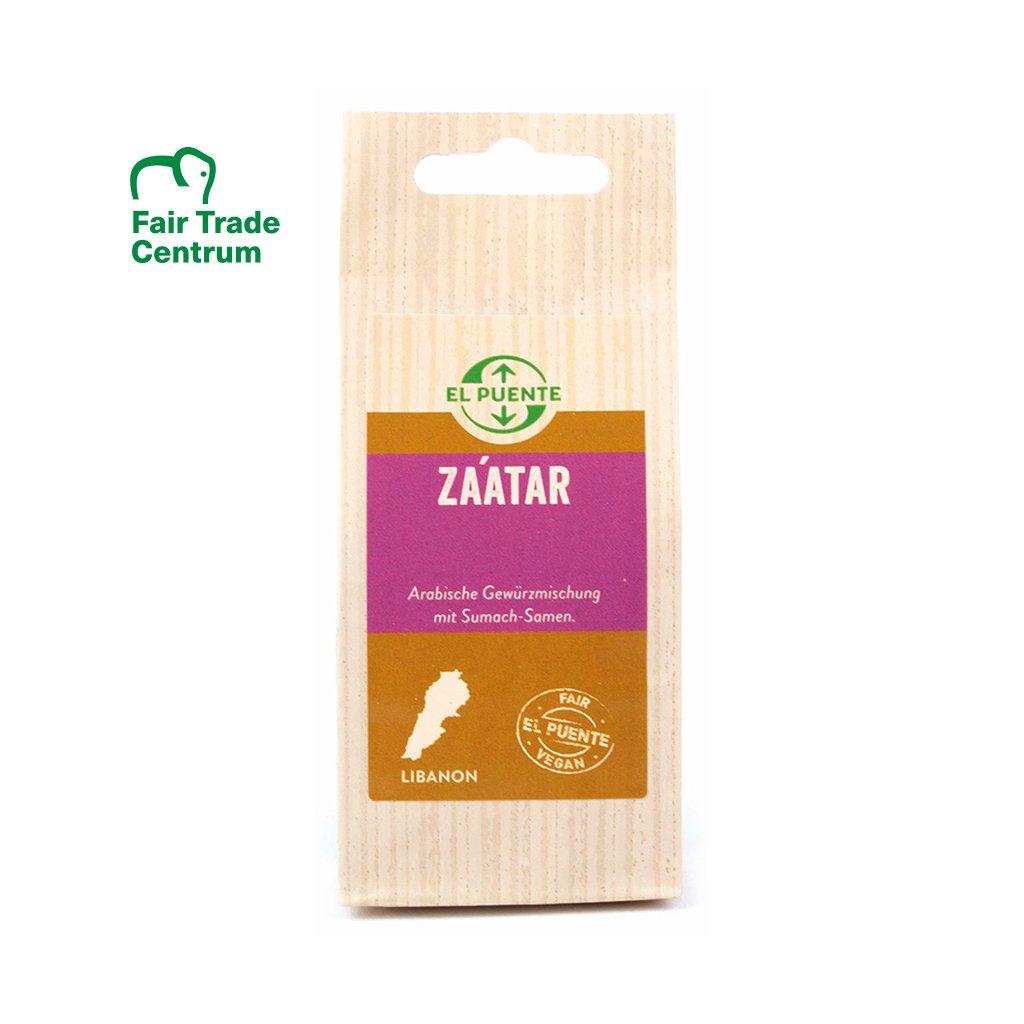 Fair trade směs koření Zatar z Libanonu