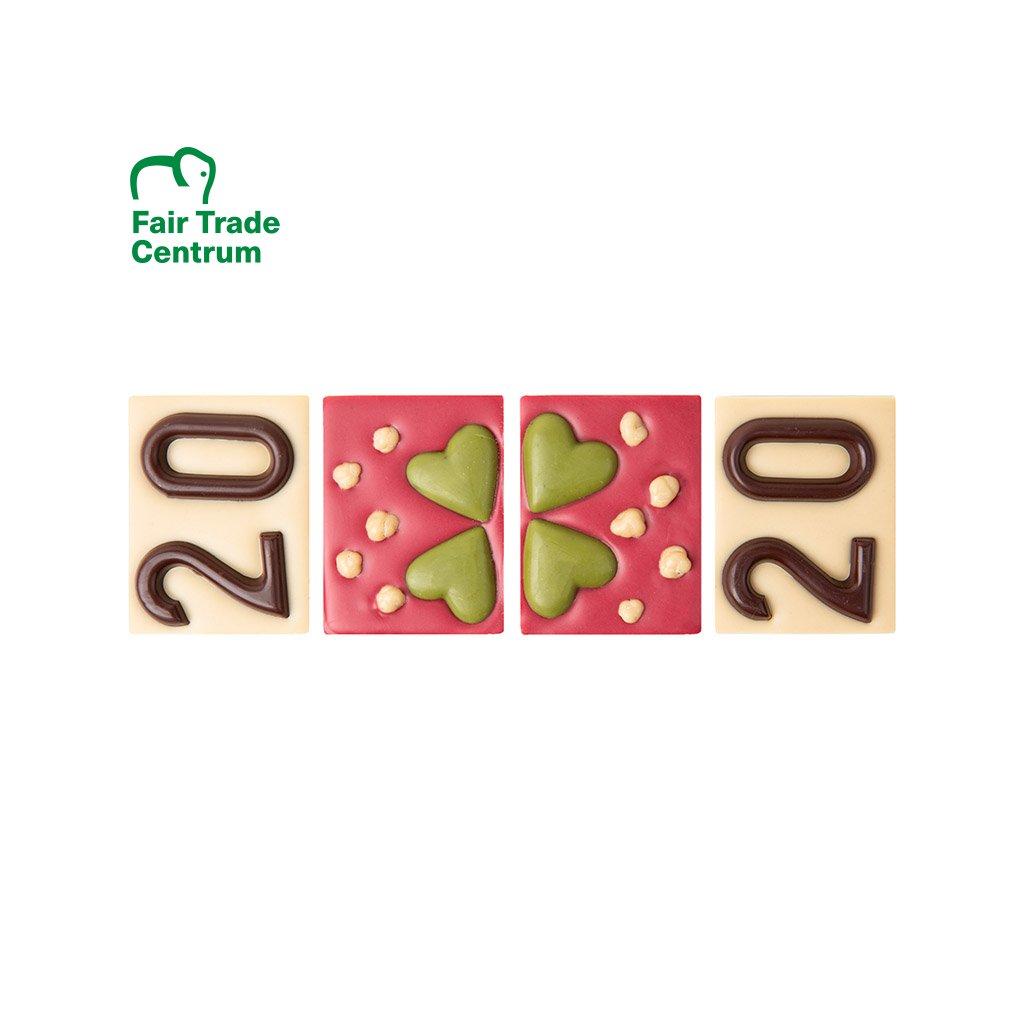 Fair trade bio čokoládová sada Zotter novoroční 2020