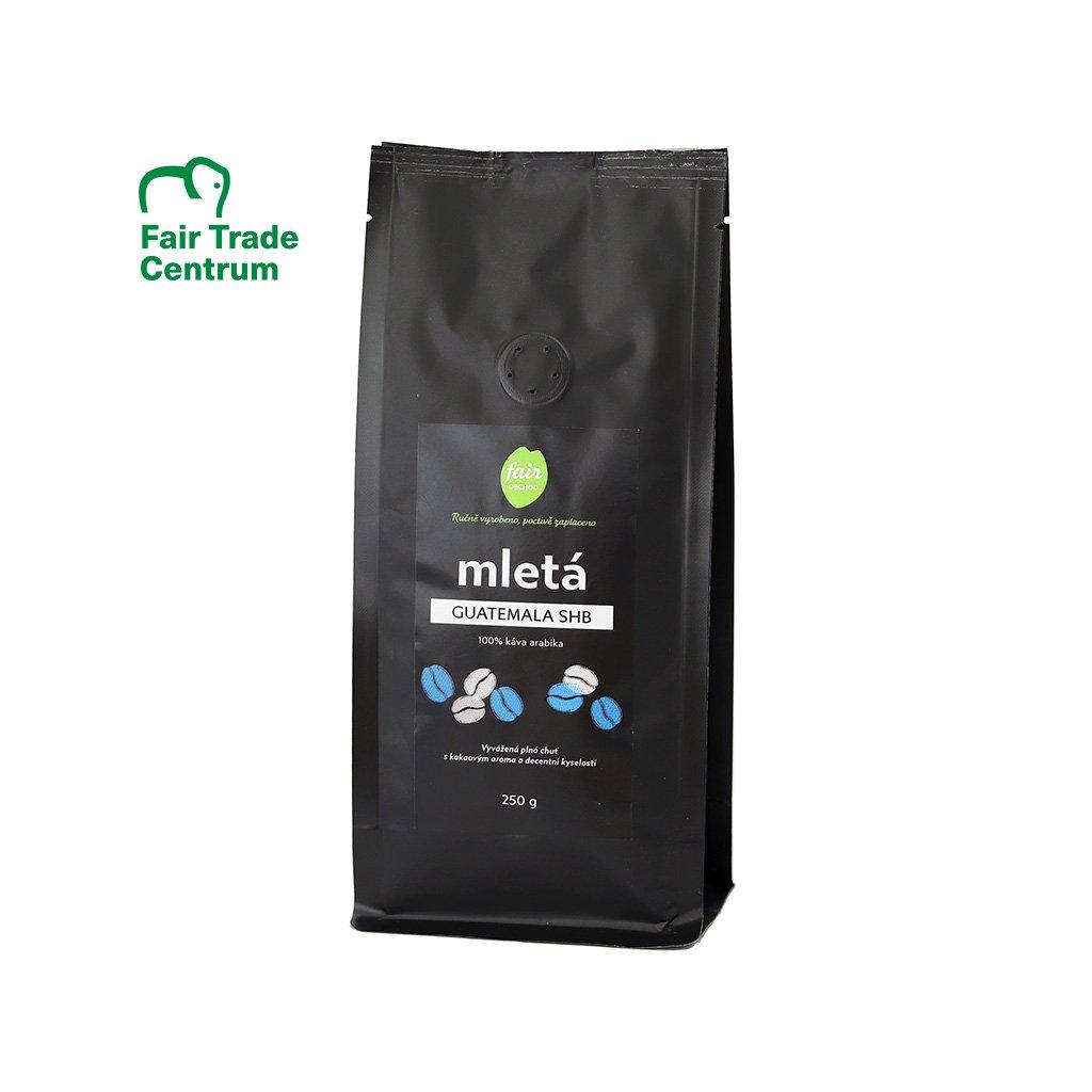 Fair trade mletá káva Guatemala SHB, 250 g