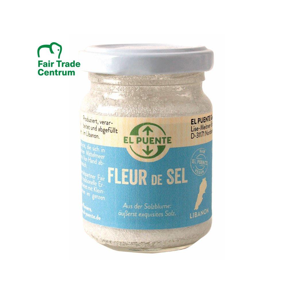 Fair trade mořská sůl Fleur de Sel z Libanonu