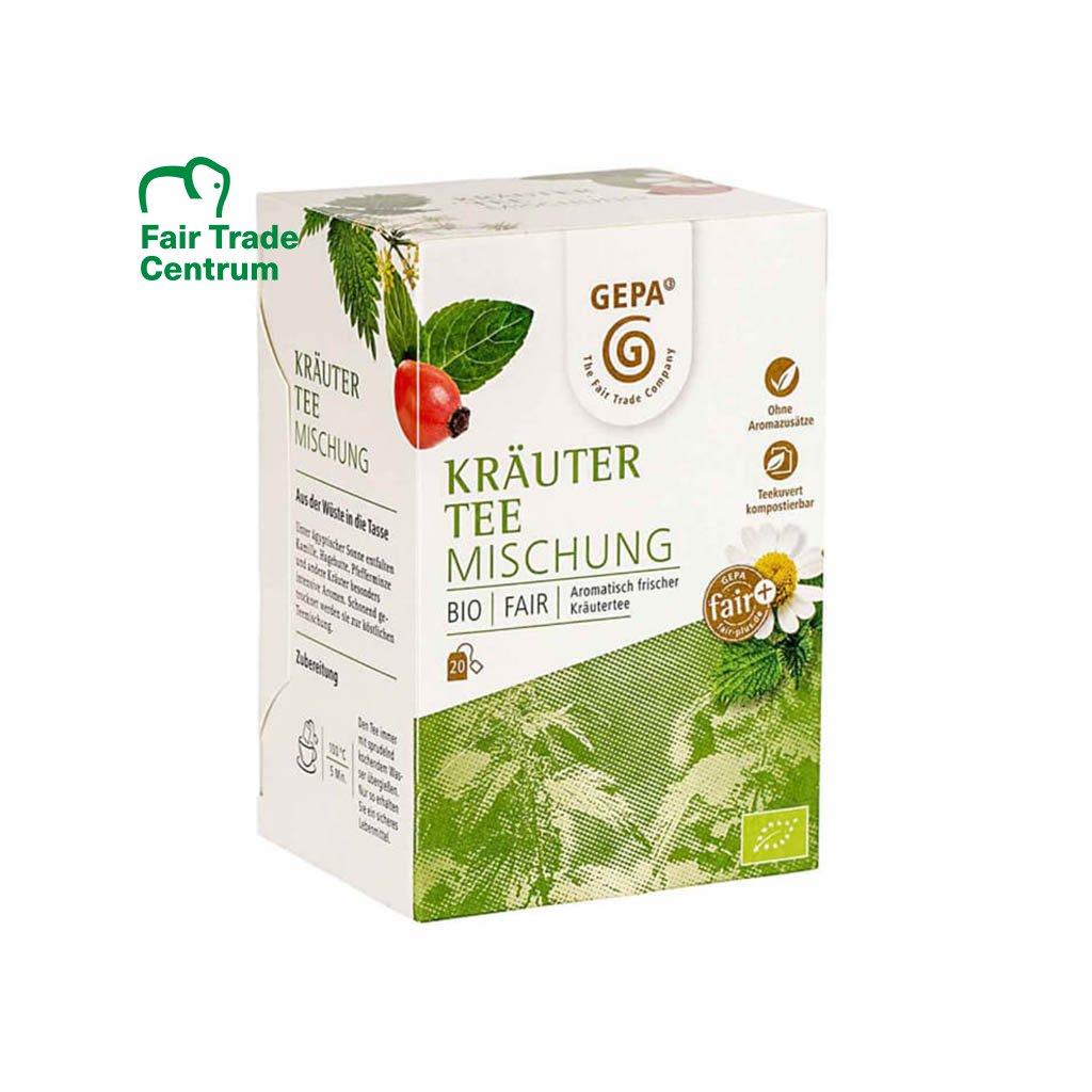 Fair trade bio bylinný čaj porcovaný, z Egypta