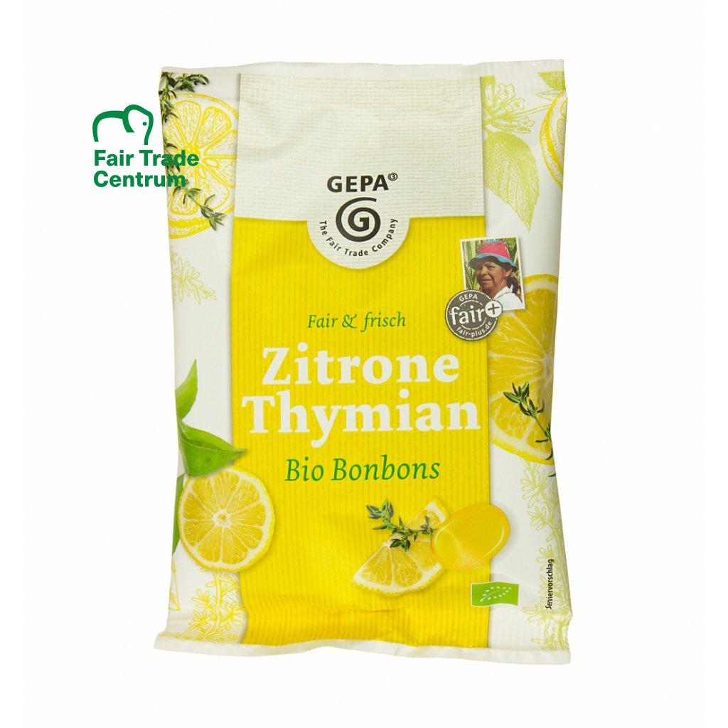 Bio bonbóny Citrón tymián, 100 g