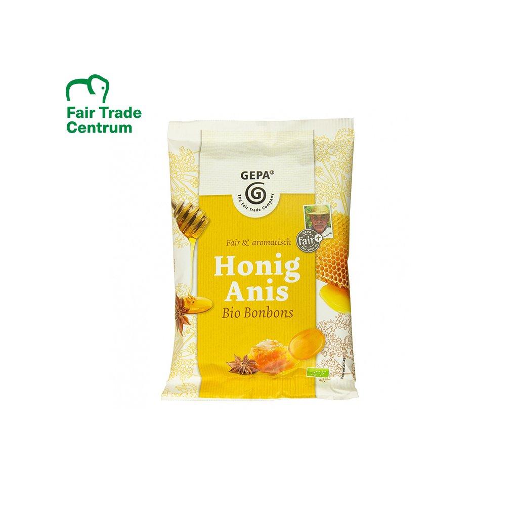 Bio bonbóny Med anýz, 100 g