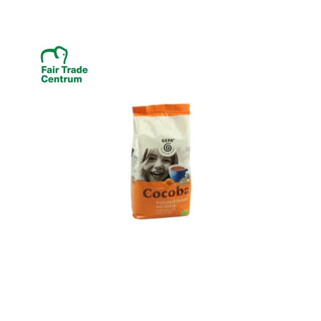 Bio kakao s medem Cocoba, 400 g