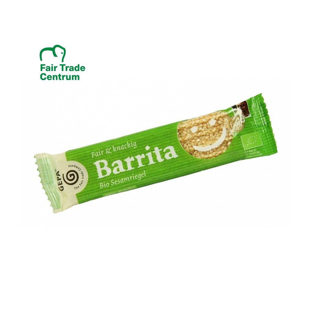 Fair Trade bio sezamová tyčinka Barrita