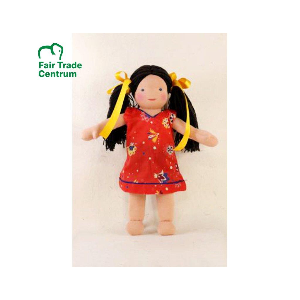 Fair trade ručně šitá látková panenka Dolls4Tibet Danny