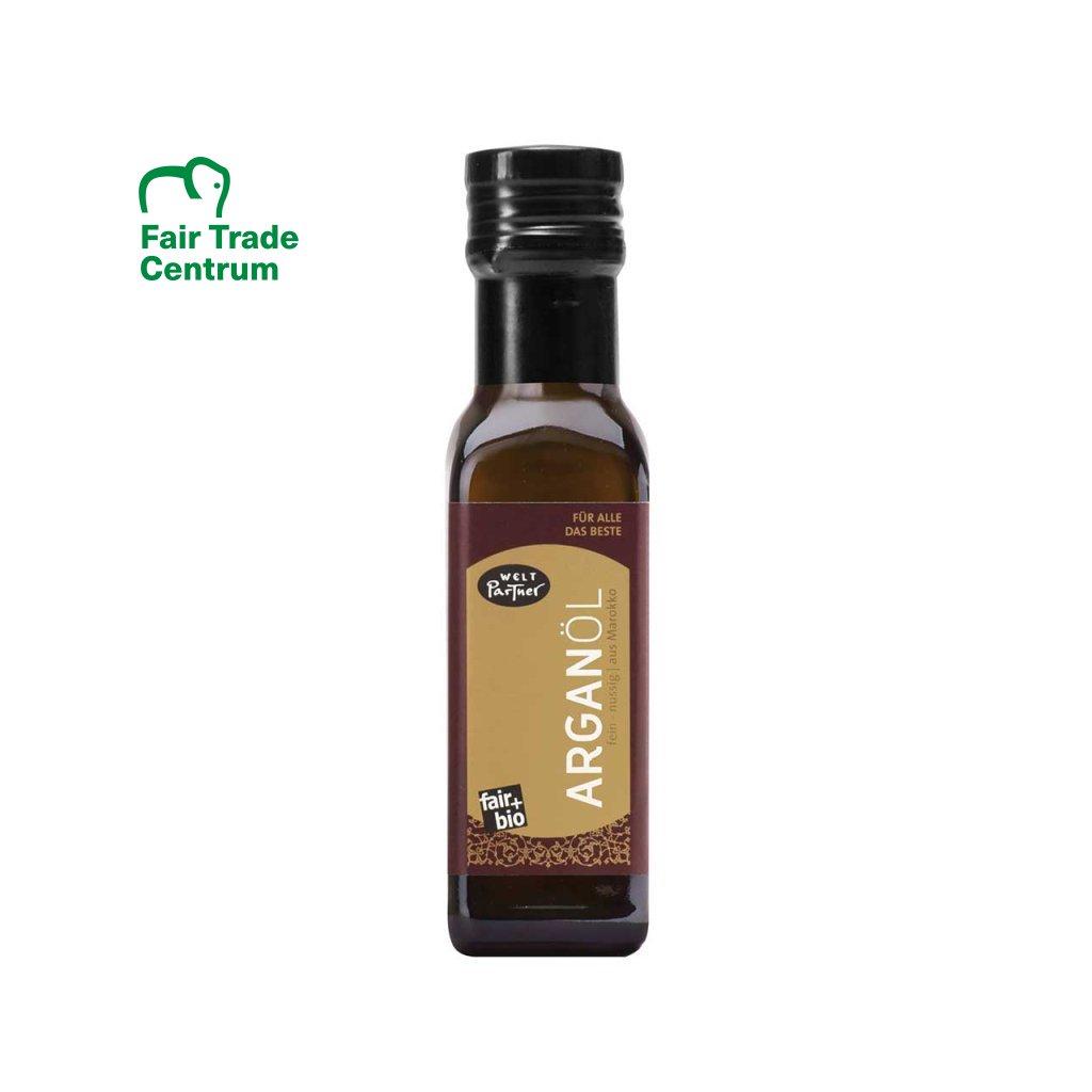 Fair trade bio arganový olej lisovaný za studena z Maroka, 100 ml