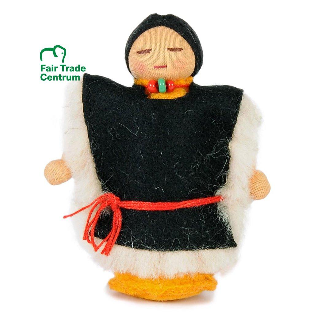Fair trade ručně šitá tibetská panenka Syn dolls4tibet