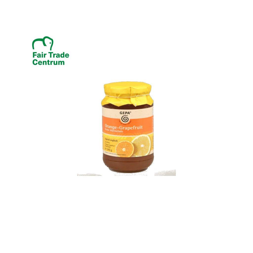 Pomerančovo-grapefruitová marmeláda