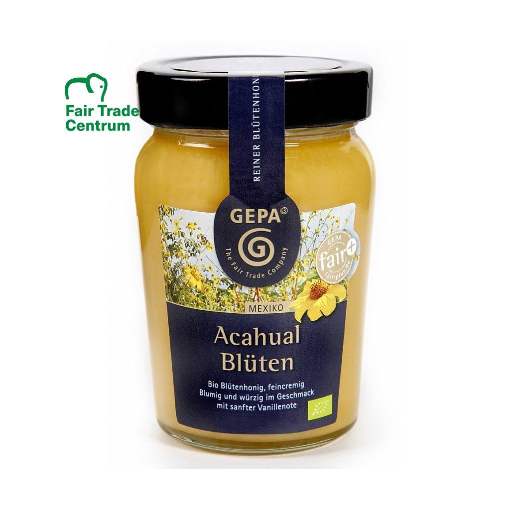 Fair trade bio květový med Acahual z Mexika, 350 g