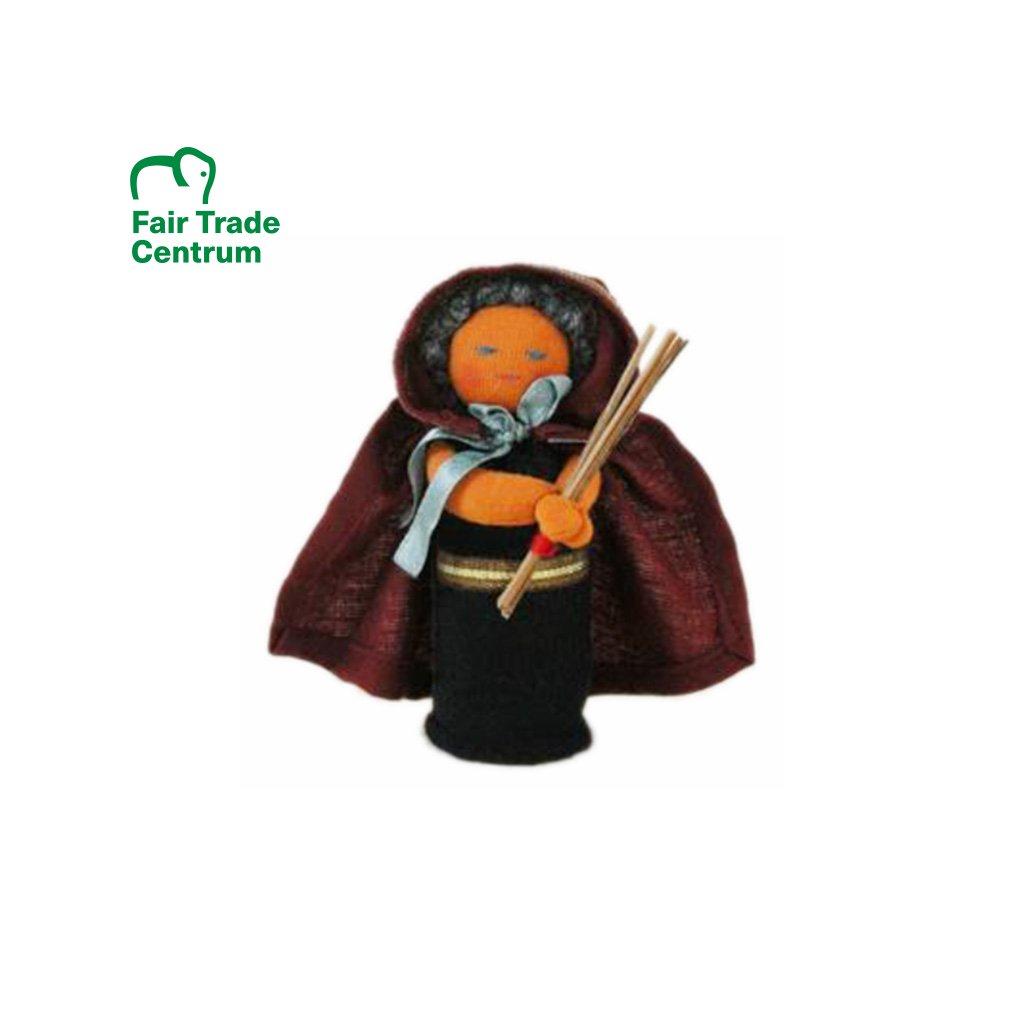 Fair trade panenka čarodějnice dolls4tibet